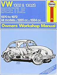 VW 1302S Super Beetle Owners Workshop Manual (Haynes Service and Repair Manuals) by J. H. Haynes (2012-10-01)