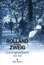 Correspondance 1910-1919 de Stefan Zweig