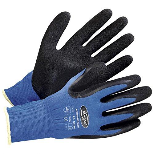 Arbeitshandschuh Handschuh Lagerhandschuh Kori-Grip Foam blau-schwarz - Größe 11