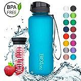 720°DGREE Trinkflasche 'uberBottle' - 1,5 Liter, 1500ml, Blau | Neuartige Tritan Wasser-Flasche |...