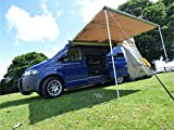 Direct 4x4 1.4M x 2M Van Tent Pull Out Awning Expedition Safari Heavy Duty Vans