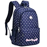 Best Books For 6th Graders - Kid Padded Backpack Cute Heart Print Bookbag Review