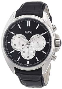 Hugo Boss - 1512879 - Driver - Montre Homme - Quartz Analogique - Cadran Noir - Bracelet