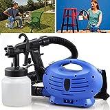 Nebulizzatore elettrico con pistola spray regolabile per vernice, ideale per dipingere recinzioni, interni ed esterni