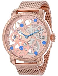 Akribos XXIV AK526RG - Reloj de pulsera para hombres, color rosado