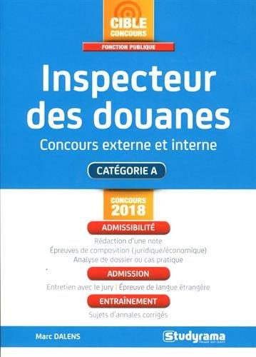 Inspecteur des douanes - Concours externe et interne