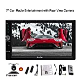 In Dash Double 2 Din Android 7.1-System Autoradio-Stereo 6-Zoll-Touch-Screen-Unterstützung Split Screen GPS-FM / AM FREE Rearview-Kamera Optional 3G / 4G-Dongle OBD2 1080p Video USB Navigation Bluetooth Wifi Quad-Core-TV