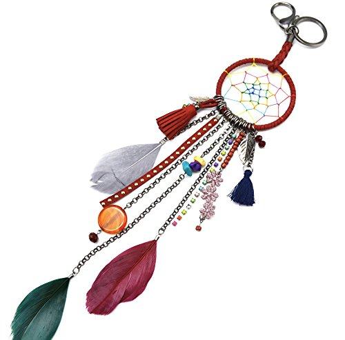 pt1029d-llavero-joya-para-el-bolso-con-conchas-plumas-y-pompones-diseno-etnico-de-atrapasuenos-color