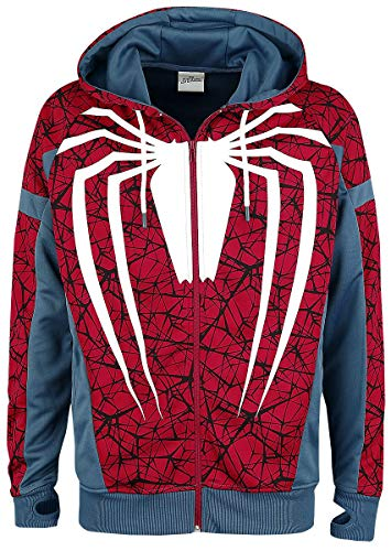 (Spider-Man Cosplay Trainingsjacke Multicolour S)