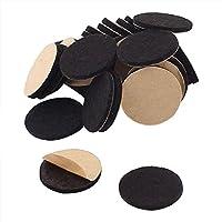 Aofocy Protección autoadhesiva de los Muebles 20 mm 30 Piezas (20 mm x 2 mm 30 Piezas)