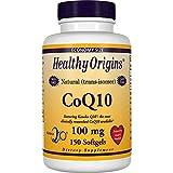 Healthy Origins, CoQ10 Gele (Kaneka Q10), 100 mg, 150 Kapseln