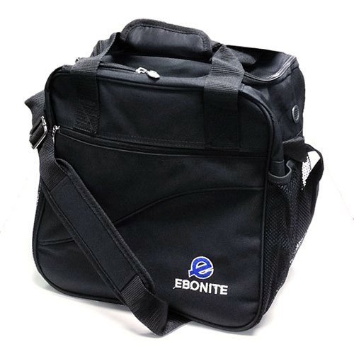 Bowling Ball Single Ball Bag, Tasche Ebonite Escort, black