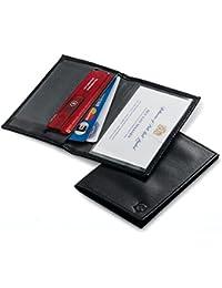 Victorinox SwissCard - Tarjetero de piel, color negro