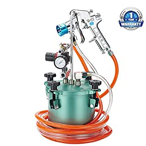 YUNSHINE 2L Pneumatic Paint Simulated Stone Pressure Spray 2.5Cal