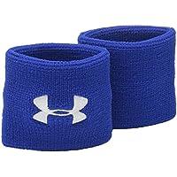 Under Armour UA Performance Wristbands Chaqueta, Hombre, Azul (400), One Size
