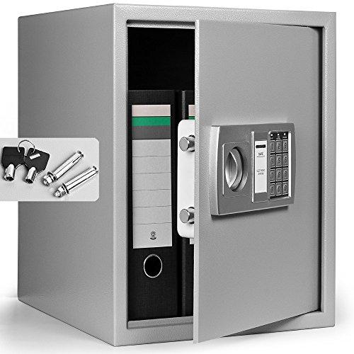 Dokumententresor 35x40x40cm – Safe Tresor Möbeltresor mit Elektronikschloss - 6