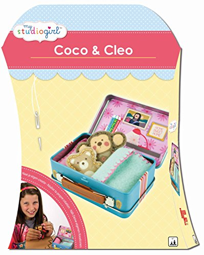 university-games-82235-kit-de-loisirs-creatifs-my-studio-girl-coco-cleo