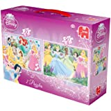 Disney Princess 2 in a Box Puzzles (35 + 50 Pieces)