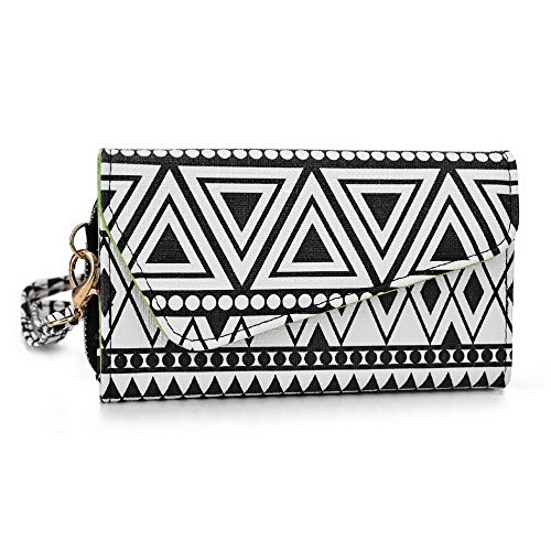 Kroo Pochette/étui style tribal urbain pour Meizu MX3 Multicolore - Brun Multicolore - Noir/blanc