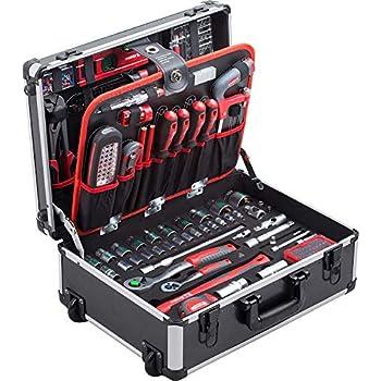 116 tlg. Werkzeugkoffer mit Werkzeug Werkzeugkoffer COX566116
