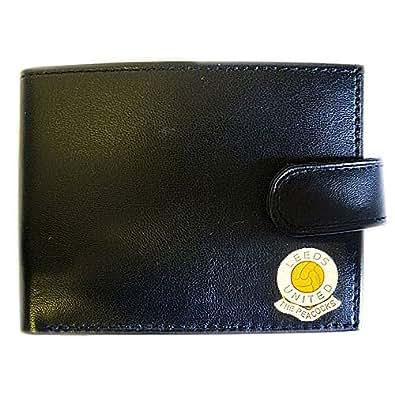 Leeds United Football Club Genuine Leather Wallet
