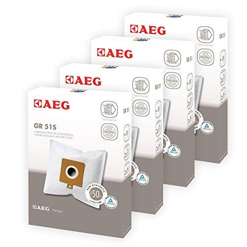Original AEG 460485486467Staubsauger Reinigungstuch Taschen und Filter (16Staubbeutel + 8Filter) (Pre-filter Tasche)