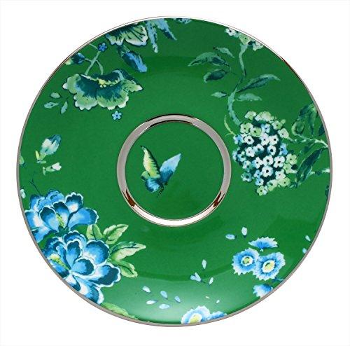 Wedgwood Chinoiserie Tee-Untertasse grün -