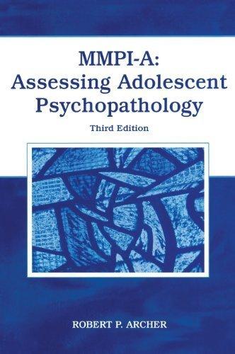 MMPI-A: Assessing Adolescent Psychopathology by Archer, Robert P. (2005) Hardcover