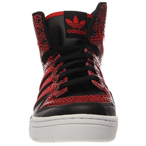 Adidas Metro Attitude - Blau / Orange-weiÃ?e, 7.5 D Us Black / Red-White