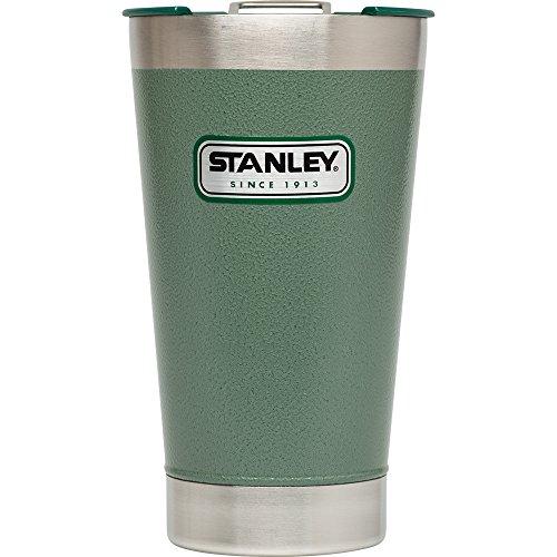 Stanley Classic Vakuum Pint Klauenhammer, Hammertone Green, 16-Ounce