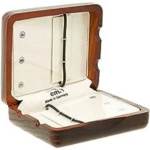 GEWA 751005 - Estuche de madera para 6 lengüetas de clarinete, color marrón rojo