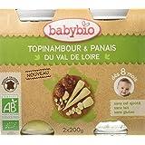 Babybio Pots Topinambour/Panais du Val de Loire 400 g -