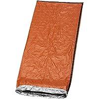 Bramble Emergency Bivvy Bag - Survival Sleeping Bag – Bushcraft – thermal Insulation Bright Orange Exterior, Reflective Lining Interior