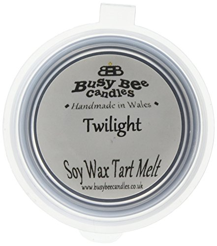 Scheda dettagliata Busy Bee Candles-Tart in Cera alla fragranza di Twilight, Motivo Gelato Che Si scioglie, Colore: Blu, Confezione da 6
