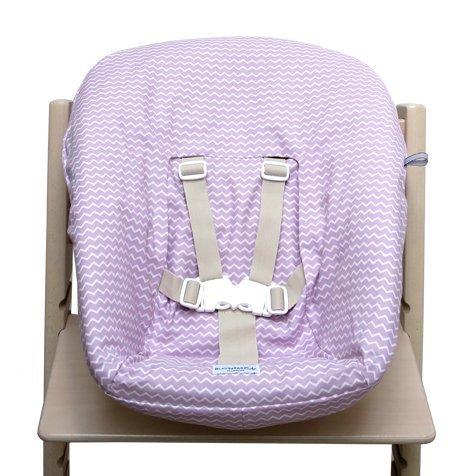 Blausberg Baby - Bezug für Stokke Newborn Set Chevron rosa