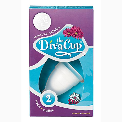 DivaCup Menstruations-Behälter Größe 2