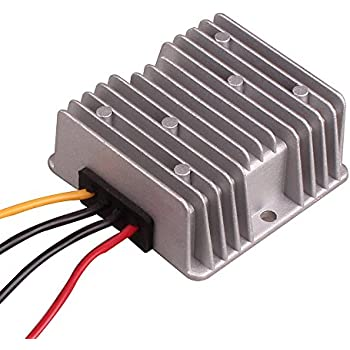 car auto dc 24v to dc 12v step down converter regulator power inverter  adapter 18v-32v input for car vehicle boat truck van (step down 10a / 120w)  by hitcar