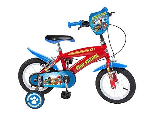 "Paw Patrol - Bicicleta Patrulla Canina, 12"""