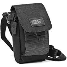 USA Gear S2 - Estuche para cámara fotográfica (Compacto, Negro, Gris, 88,9 x 63,5 x 139,7 mm)