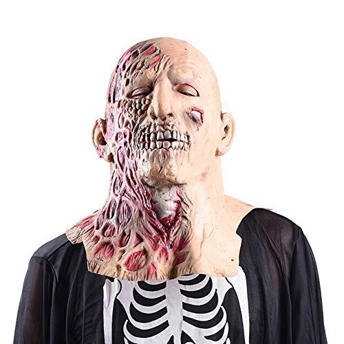 Unbekannt Halloween Maske Zweiseitige Menschen Adult Latex Scary -