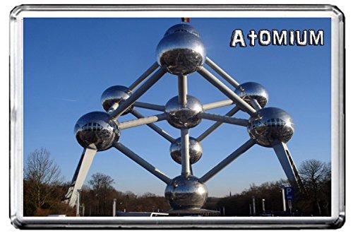 087 ATOMIUM IN BRUSSELS KÜHLSCHRANKMAGNET BELGIUM LANDMARKS, BELGIUM ATTRACTIONS REFRIGERATOR MAGNET