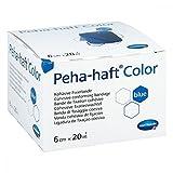 Hartmann 9324731 Verbände, Peha-Haft Color latexfrei, 6 cm x 20 m, Blau
