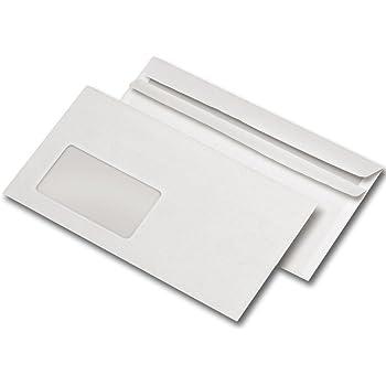 Briefumschläge Selbstklebend Din Lang Mit Fenster 1000 Stück
