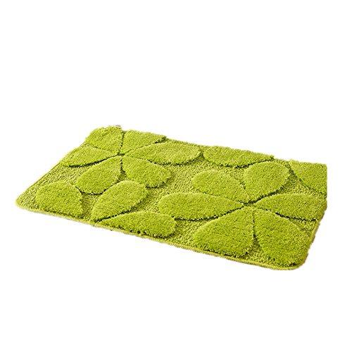 """TINE HOME CURTAINS 3D Blumen Mikrofaser Polyester Badematten 15,7""""Wx23.6 L / 40x60cm, 40 * 60cm"""