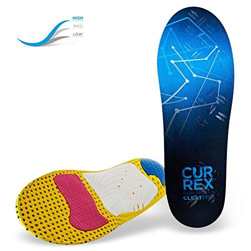 CURREX CleatPro Sohle High Profile. Deine neue Dimension des Fußballs. Performance Einlegesohle für Fußball- oder Stollen-Schuhe. Gr EU 44,5-46,5 - Performance-einlagen