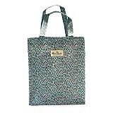 La Haute - Borse stampate alla moda, in tela cerata impermeabile, per pranzi, viaggi, picnic Type 1