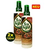 Frylight BBQ & GRILL Oil Cooking Spray 2 x 190ml (380ml) - 1 Cal. per Spray!
