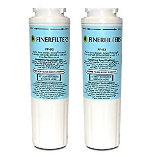 2 x Finerfilters Compatible UKF8001 Water Filter for Amana Maytag UKF8001, UKF8001AXX, Puriclean II PUR, Amana, Admiral, KitchenAid, Kenmore