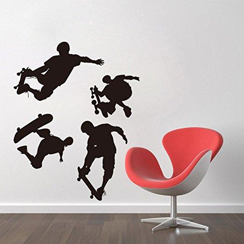 Niños Skate monopatín Pared Mural Adhesivo