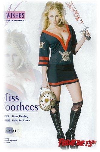KostümMiss Voorhees - Jason Grösse S (Miss Jason Voorhees Kostüm)